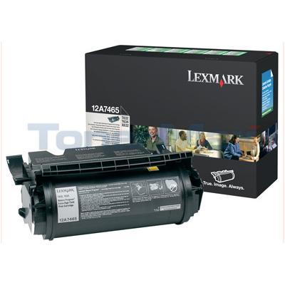 LEXMARK T632 T634 TONER CARTRIDGE RP 32K